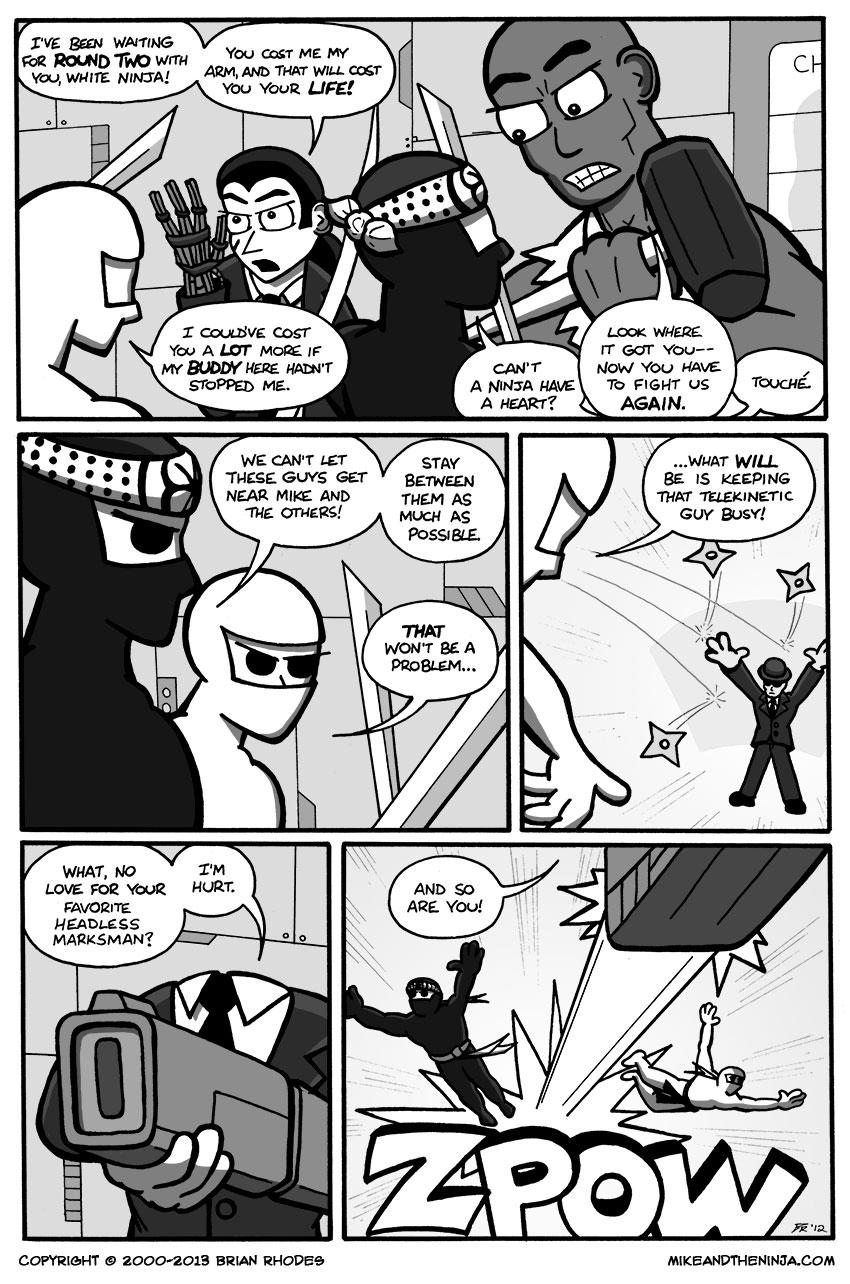 Ninja Versus Hypergoon Elite, Round 2